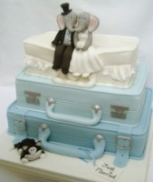 suitcases and elephants 1